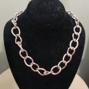 Jewelry - Silver Big Link Chain Necklace